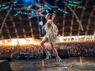 Sofia Carson Performs at Coachella 2018.
