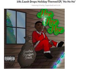 HYPEBEAST | 10k.Caash Drops Holiday-Themed EP, 'Ho Ho Ho'