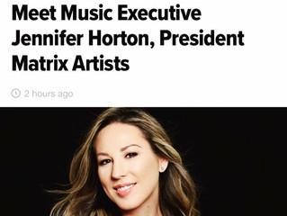 President of Matrix Artists, Jennifer Horton, Sat Down With The Huffington Post