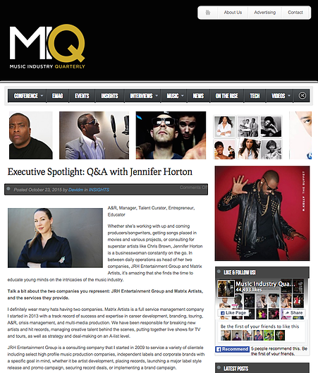 Music Industry Quarterly