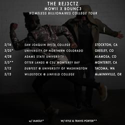 Rej3ctz College Tour 2017   Flyer