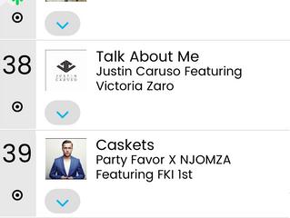 """Caskets"" Reaches #39 on Billboard Heatseakers Charts"