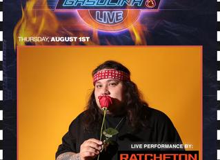 Ratchetón Performing LIVE @ Live Nation's Gasólina Party