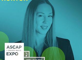 Matrix Artists President Jennifer Horton @ ASCAP Expo 2017