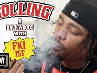 HotNewHipHop | Rolling A BackWoods with FKi 1st