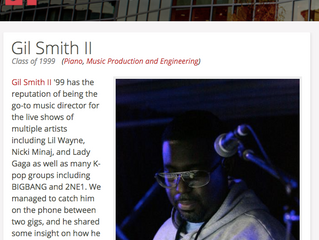 Gil Smith II Talks With Berklee College