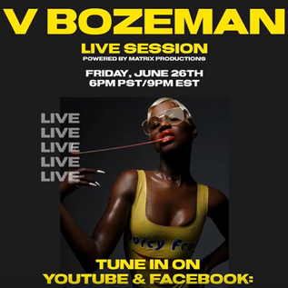 V Bozeman Live Session at Matrix Studios DTLA