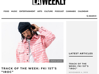 """LAWEEKLY: Track of The Week: FKi 1$T's """"IROC"""""""
