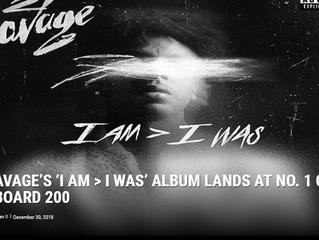 XXL | 21 SAVAGE'S 'I AM > I WAS' DEBUTS AT NO. 1