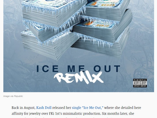 "Complex - Kash Doll Taps 2 Chainz for ""Ice Me Out"" Remix Produced By FKi 1st"