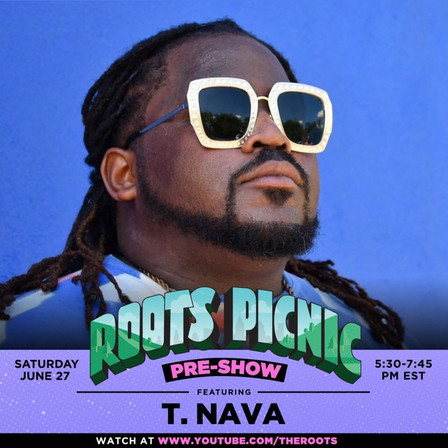 T.nava of The Free Nationals Performs Live on the Roots Picnic from Matrix Studios DTLA