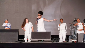 Gil Smith, Music Director, for Kehlani's Governors Ball Performance