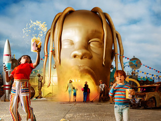 """Travis Scott's ASTROWORLD Out Now with FKi 1st Produced Tracks """"R.I.P. SCREW"""" & &q"""