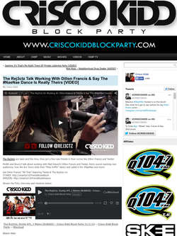 Rej3ctz x Crisco Kidd Block Party