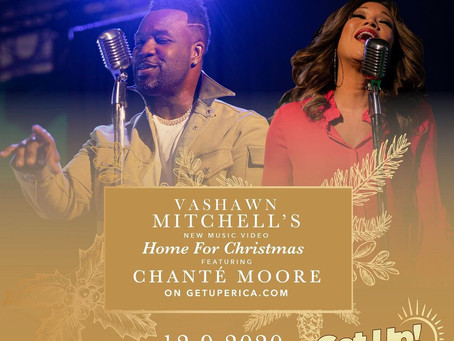 """VaShawn Mitchell Releases """"Home For Christmas"""" Produced at Matrix Studios"""