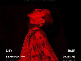 G DRAGON Announces Europe Tour Dates