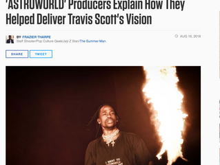 "Producer 1st Explains His 2 Tracks ""R.I.P. Screw"" and ""5% Tint"" on Travis Scott&"