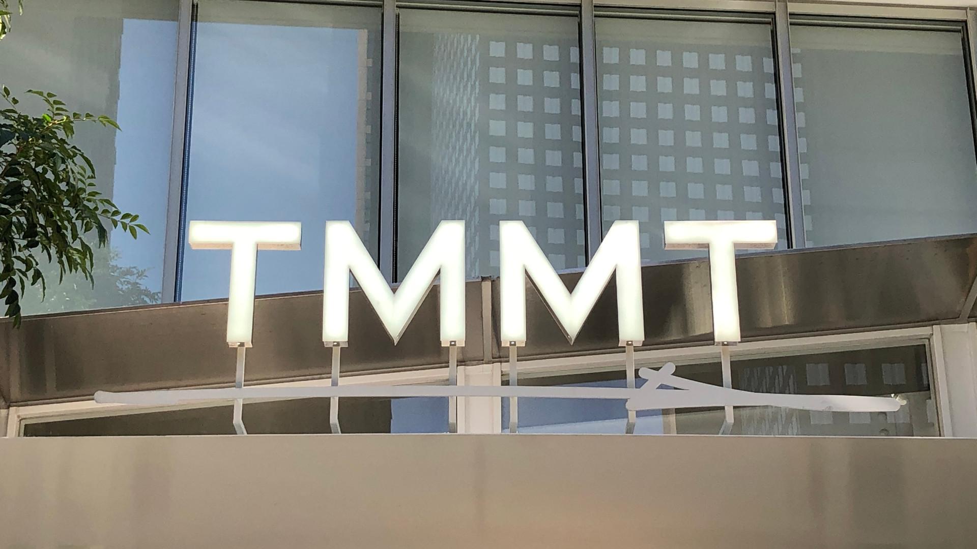 TMMTサイン工事