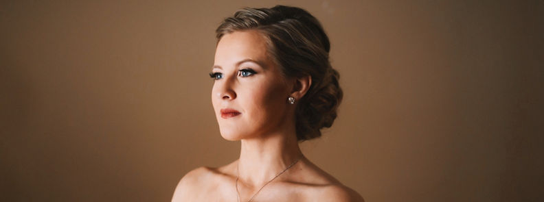 Bride on her wedding day at TheGrand Floridian. Hair and makeup by the Bridal by OUAB team