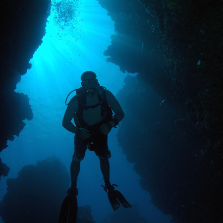 Moving Through a Cave