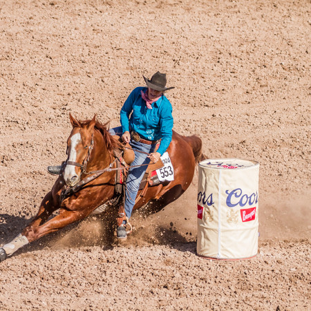 Barrel Racing Pattern Tips
