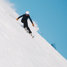 NINE WAYS TO IMPROVE YOUR SKIING