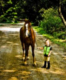 pony kid, Elyssa and Scotty