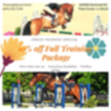 spring horse full training package
