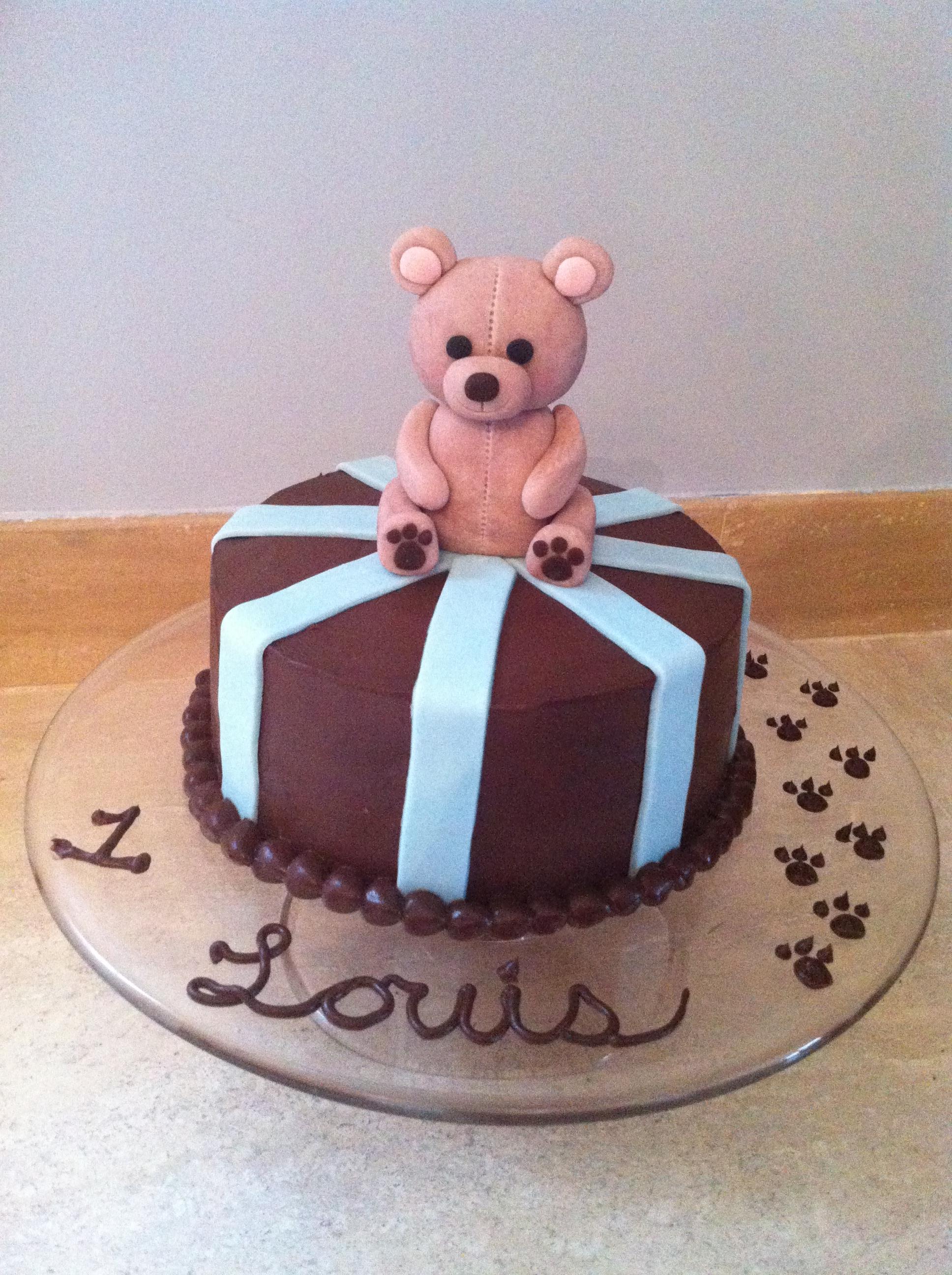 Teddy Bear for Baby Louis