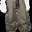 Thumbnail: Pleated Wide-Leg Pants (Brown)