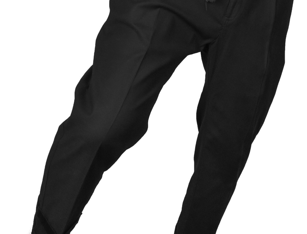Pleated Double Pants (Black)