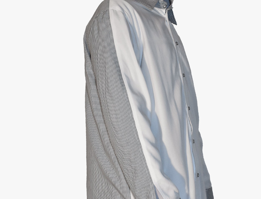 Two-Toned Loose Shirt