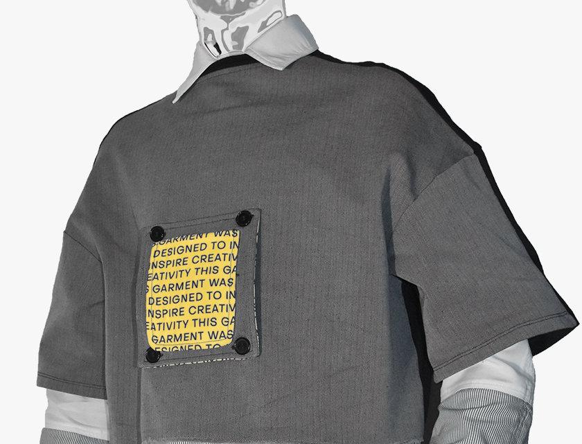 Box-Fit Crop T-Shirt