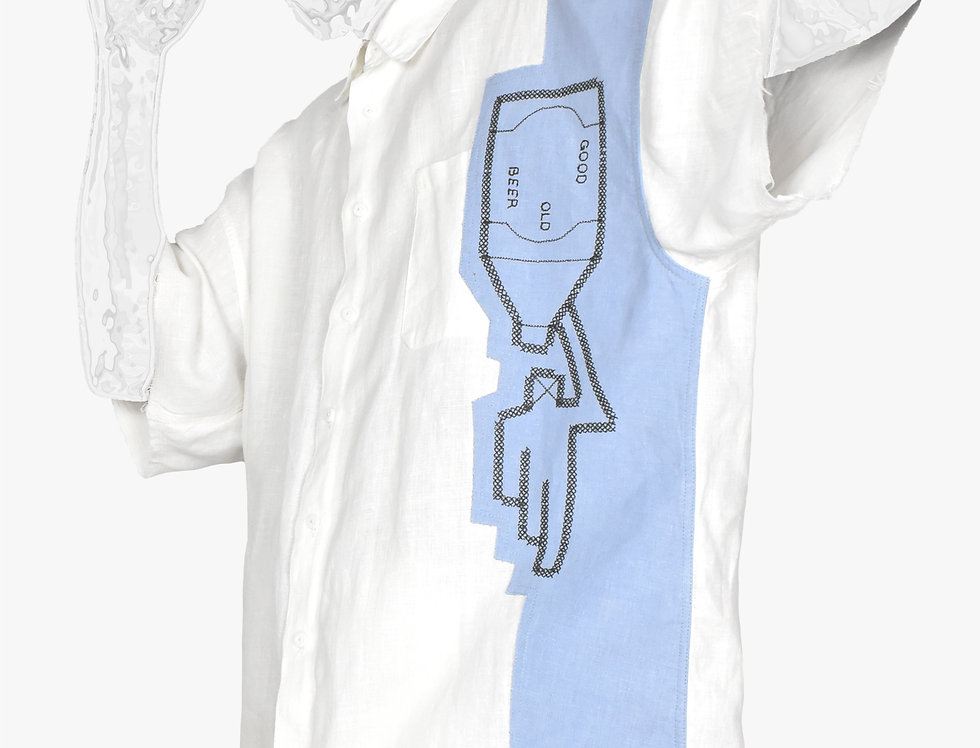 My Uncle's Beer – Oversized Short-Sleeve Shirt
