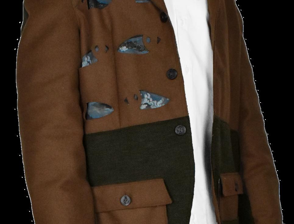Through-Pocket Blazer