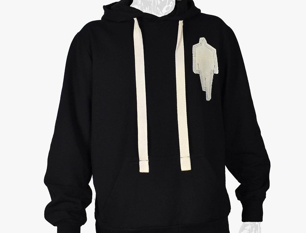 Out Of Line - Detailed Hoodie