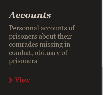 ICRC WW1 Prisoner of War Personal accounts of prisoners about missing comrades and obituaries - in blog by Your Family Genealogist