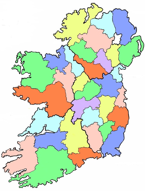 A foot in two Irish counties : Cross border research