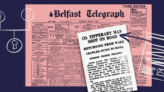 Findmypast Irish newspaper collection answered questions about my grandfather's murder