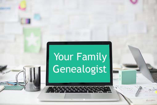 Your Family Genealogist graphic in blog post about free access to ancestry.co.uk