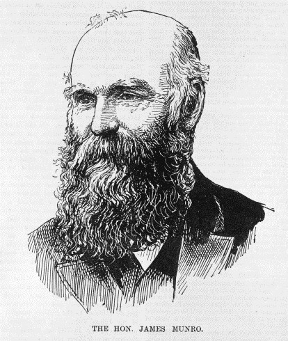 Picture of Premier JamesMunro From Victorian State Library