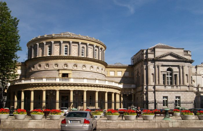 Photo of National Library of Ireland in Dublin part of Your Family Genealogist's blog post