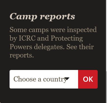 ICRC WW1 Camp Reports image in blog by Your Family Genealogist