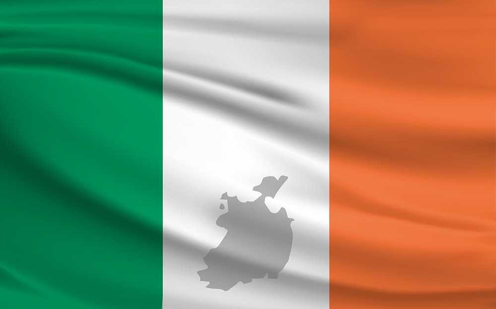 Irish flag - from pixabay.com