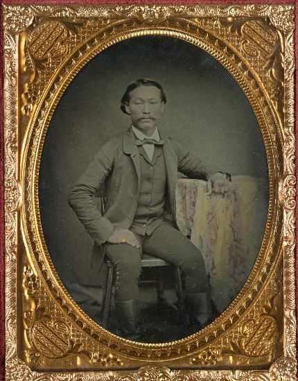 Picture of Henry Kay, successful Chinese settler circa 1860-65. Courtesy of the State Library of Victoria www.slv.gov.au