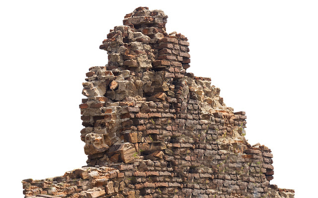 Picture of a ruined brick wall.  Courtese of pixabay.com.