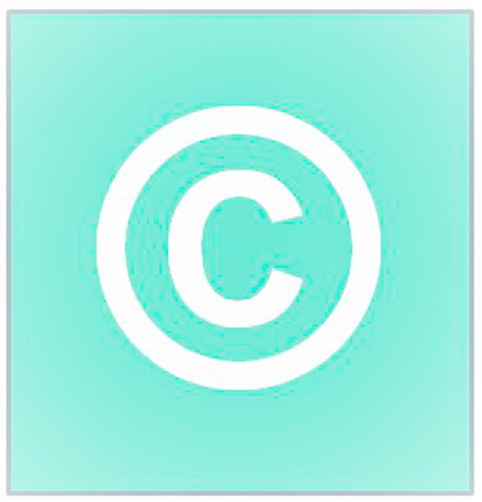 Copyright symbol created by Therese at My Family Genealogist