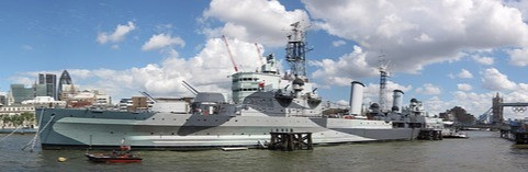 HMS Belfast photo. Courtesy of www.pixabay.com