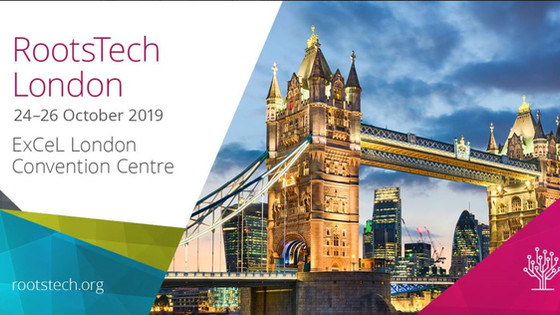 Roots Tech, London 2019