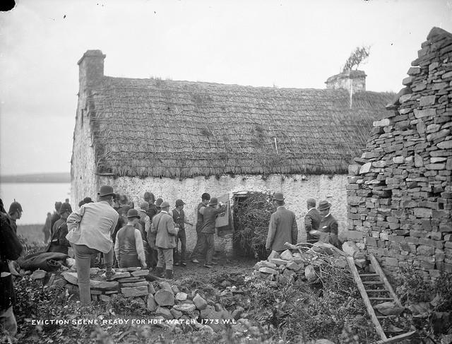 Irish eviction photo courtesy of National Library of Ireland